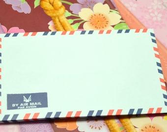 A set of 50 Vintage Style Air Mail /Par Avion Envelopes