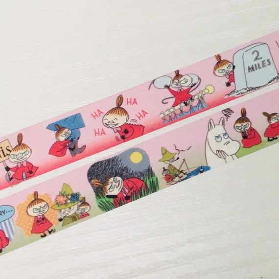Moomin Valley 60 Stickers on Roll