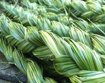 Organic Sweetgrass Braids (Hierochloe ordorata) - At least 1 Ounce - 2018 Harvest