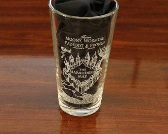 Harry Potter - Marauder's Map Pint Glass