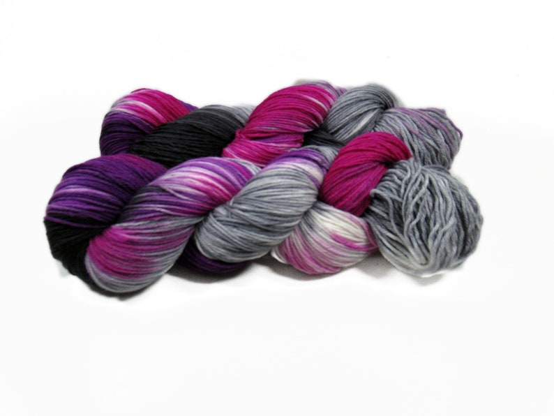 Sock yarn Merino High Twist 4x 100 gr No. 905 image 0