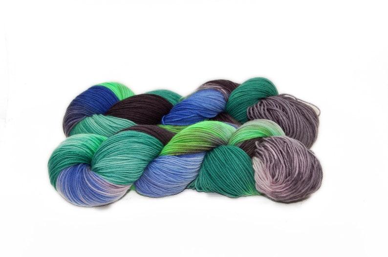 Sock wool Merinosocks 4x 100 gr No. 844 image 0