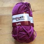 Lyric puppets cotton yarn Color 5026