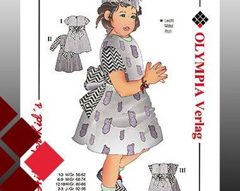 Children's cut for a birthday dress size 56-98