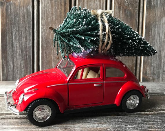 Vw beetle christmas ornament