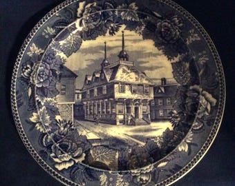 Wedgwood historische herenhuis van plaat-Boston