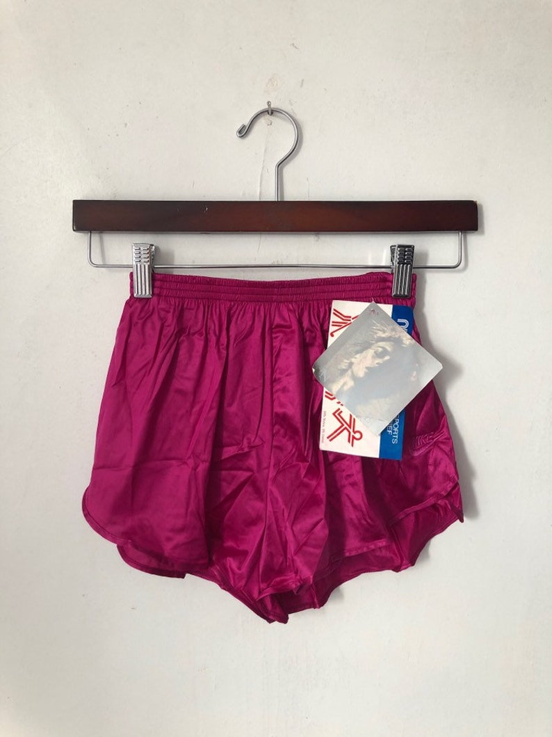 vintage nike grey tag running shorts womens size small image 0