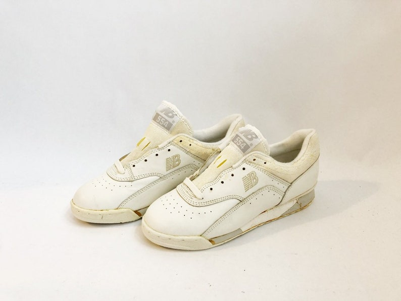 daf5f6718a9a7 vintage new balance WF554 sneakers womens size 7 deadstock NIB 1986