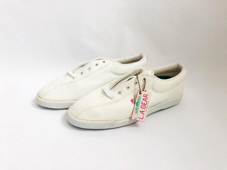 559b45c77d05b Vintage LA Gear Workout Walker Sneakers Shoes Womens Size 7 Deadstock NIB  1991