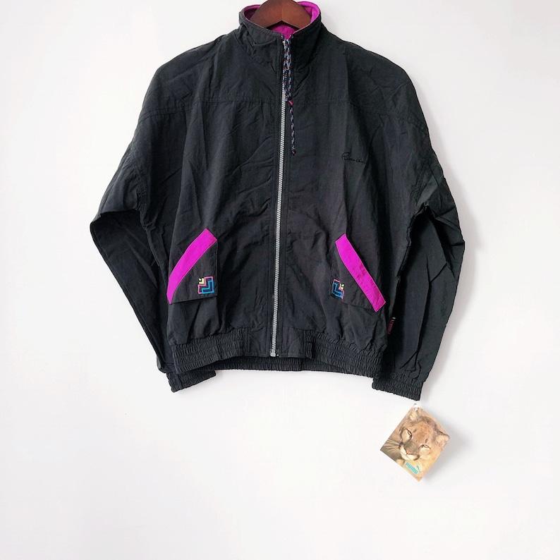 f0ff33c0b607e vintage puma windbreaker jacket womens size small deadstock NWT 90s