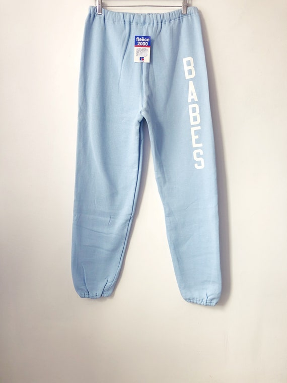 legit babes X russell athletic sweatpants adult si