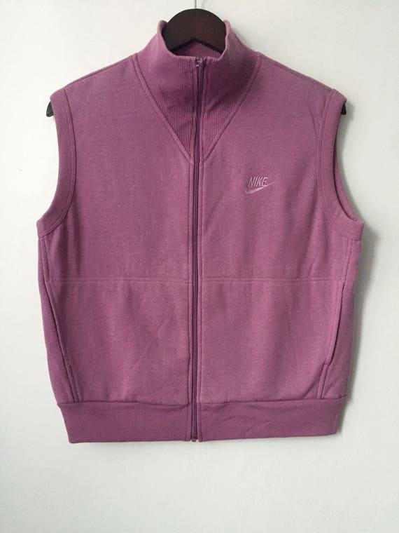 fc0fa4e5a3a3 Vintage nike blue tag sweatshirt vest women s size large
