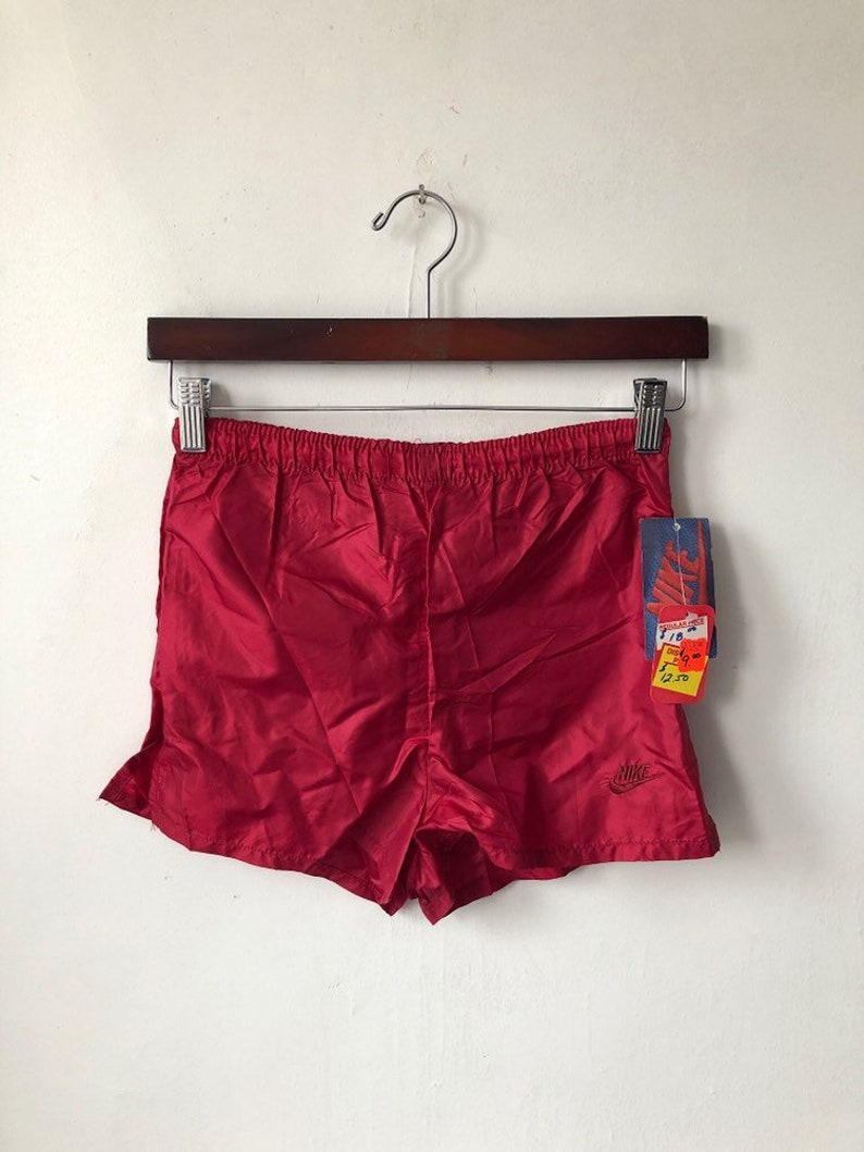 vintage nike orange tag running shorts womens size XS image 0