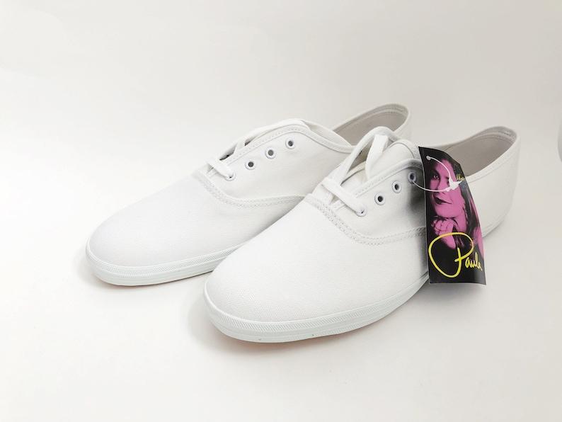 209b73cb82445 vintage LA gear canvas sneakers paula abdul womens size 10 deadstock NIB  1991