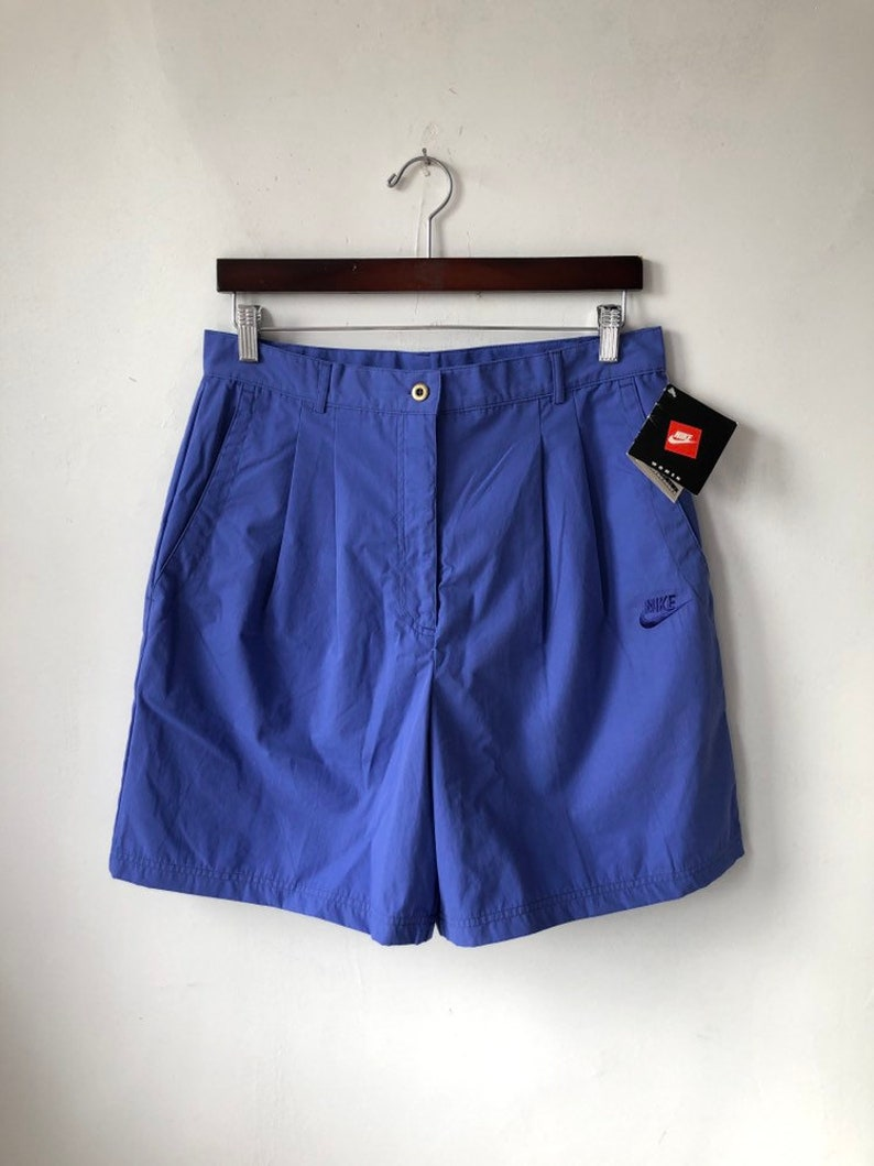 vintage womens nike pleated golf shorts size L / XL deadstock image 0