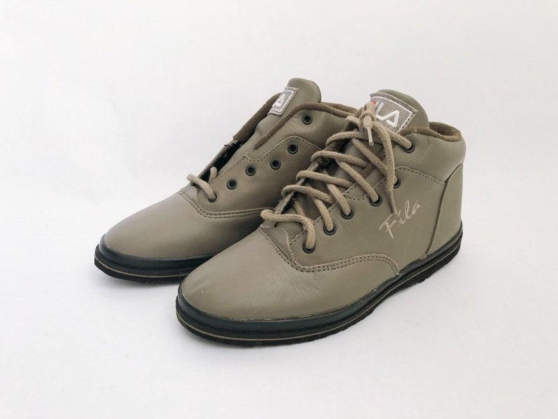 vintage FILA 3/4 aruba sneakers women's size 6.5 NIB 90s image 0