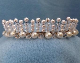 Tiara 101 - Shiny Pearls & Shiny Glass - Weddings - Something a Princess Would Wear!!!