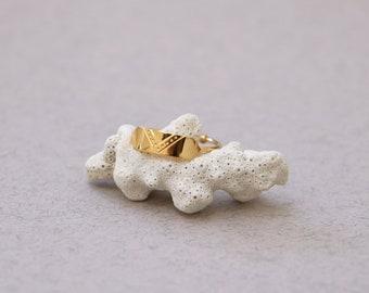 mini ajustable paris ring goldplated - MINI LOUVRE