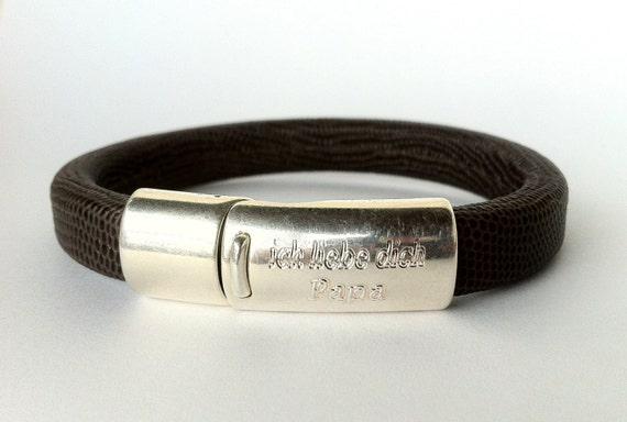 daddys personnalis bracelet f te des p res bracelet homme etsy. Black Bedroom Furniture Sets. Home Design Ideas