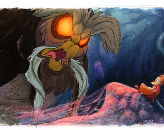 The Secret of Nimh - The Great Owl Print