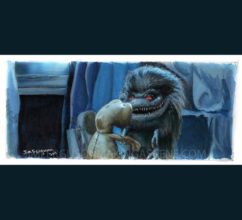 Critters  Who Are You Poster Print By Jim Ferguson image 0