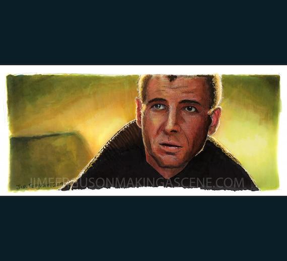 Blade Runner - Rick Deckard Poster Print By Jim Ferguson