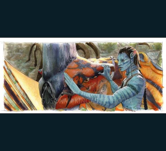 Avatar -  Toruk Makto Poster Print By Jim Ferguson