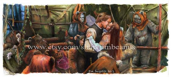 Star Wars- Return of the Jedi - Allay Loo Ta Nuv Poster Print