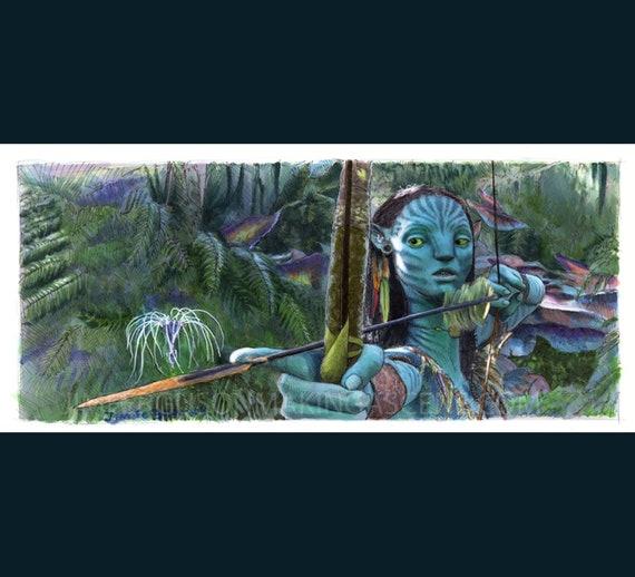 Avatar -  Neytiri Poster Print