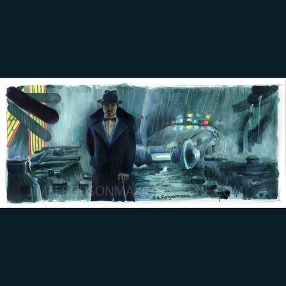 """Blade Runner - Gaff 5""""x11"""" Poster Print"""