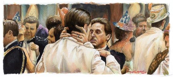 The Godfather II- You Broke my Heart Poster Print