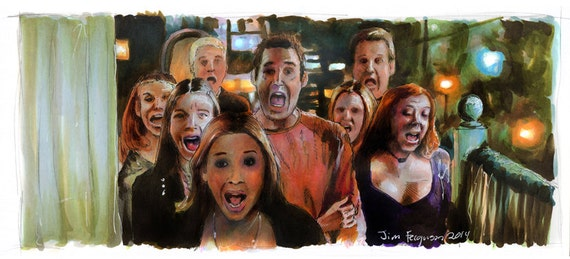 Buffy the Vampire Slayer - The Scoobs Poster Print