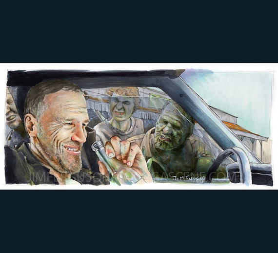 The Walking Dead - Merle Dixon Print