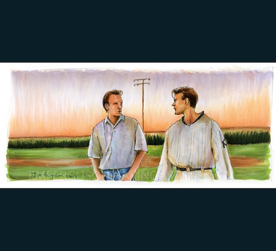Field of Dreams - Is this Heaven Poster Print By Jim Ferguson
