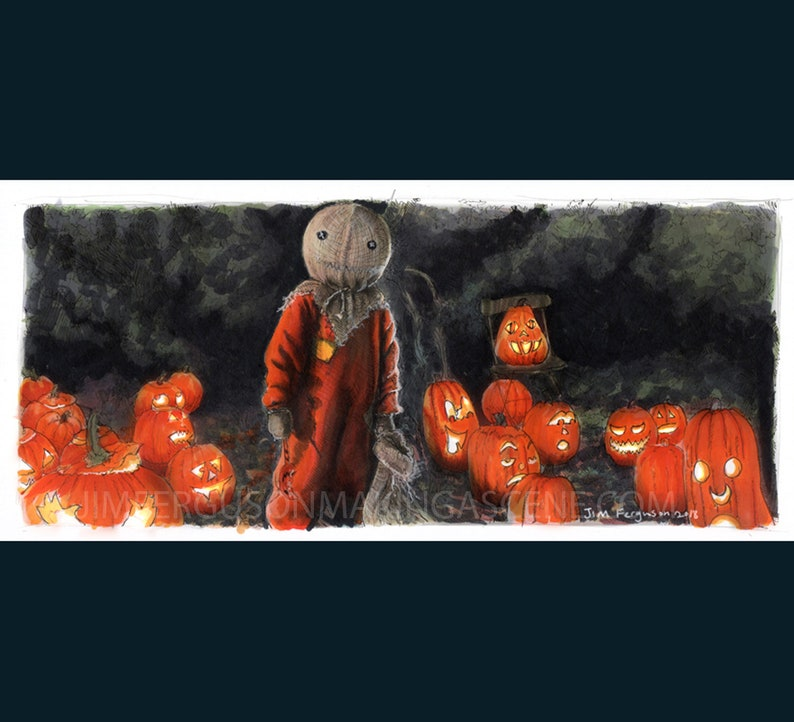 Trick r Treat  Sam Print By Jim Ferguson image 0