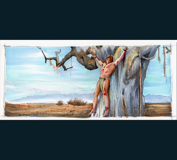 "Conan the Barbarian - Tree of Woe 5""x11"" Poster Print"