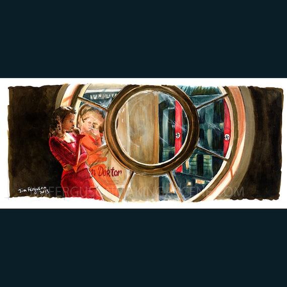 Inglourious Basterds - Shosanna Poster Print