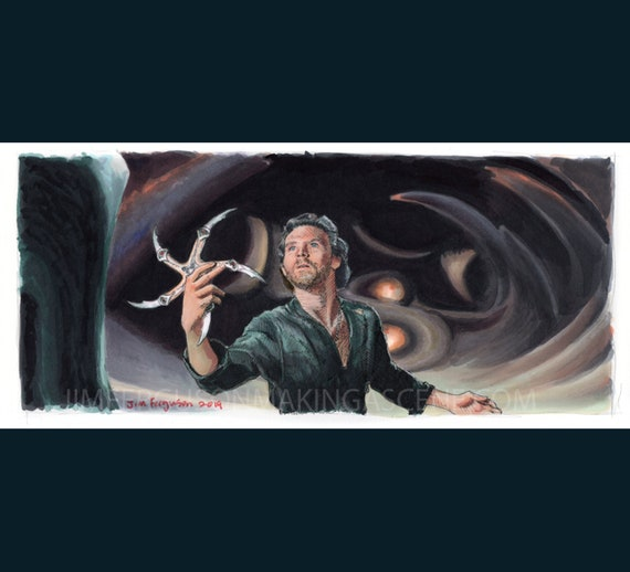 Krull - The Glaive Poster Print