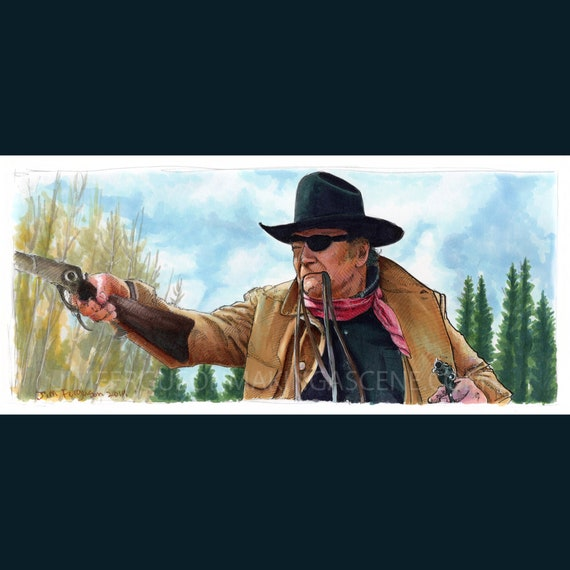 True Grit - Fill your hands   Poster Print By Jim Ferguson