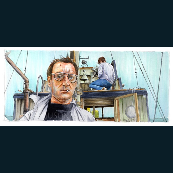 Jaws - We're Gonna Need a Bigger Boat Poster Print By Jim Ferguson