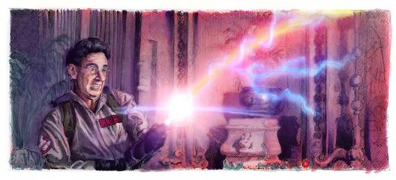 Ghostbusters - Nice Shootin Tex Poster Print