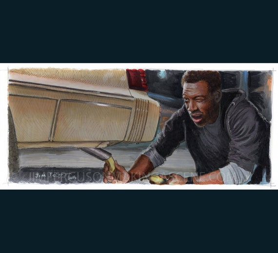 Beverly Hills Cop - Old Banana in the Tailpipe Poster Print By Jim Ferguson