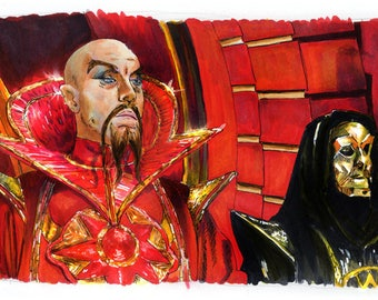 Flash Gordon - Klytus, I'm bored Poster Print