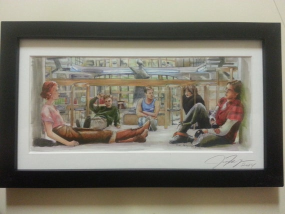The Breakfast Club - What Would I Do For a Million Dollars? Poster Print