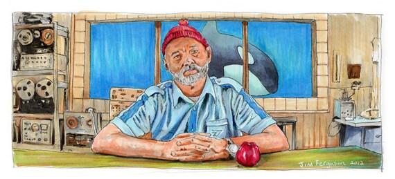A Life Aquatic with Steve Zissou  Poster Print