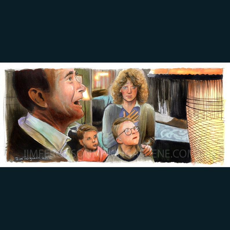 A Christmas Story  Indescribably Beautiful Original drawing image 0