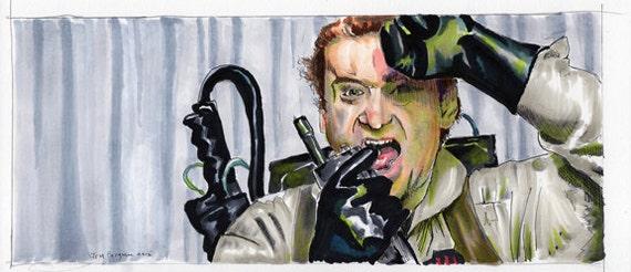 Ghostbusters Peter Venkman Poster Print