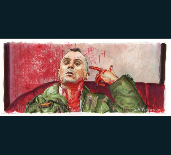 Taxi Driver - Travis Poster Print