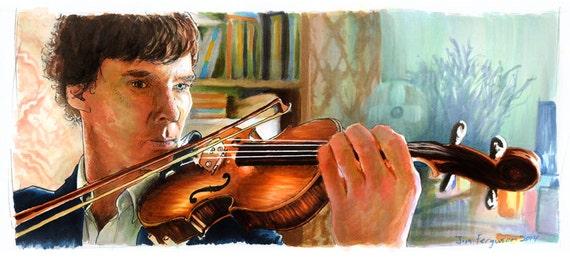 Sherlock - Shelock Holmes  Poster Print