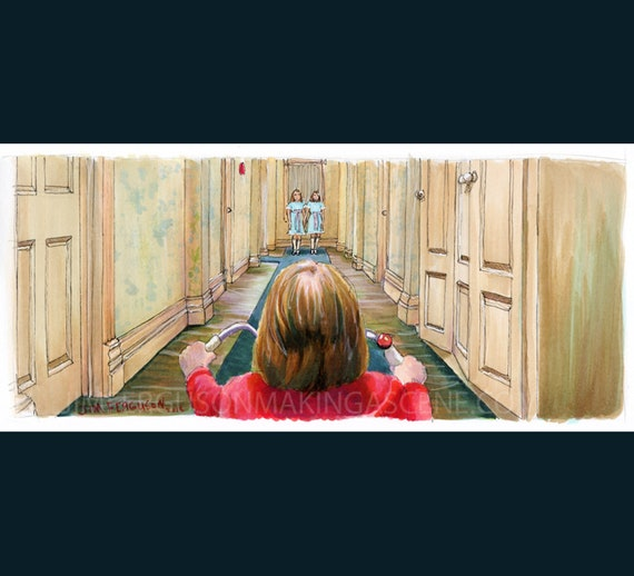 The Shining - Come Play With Us Print By Jim Ferguson